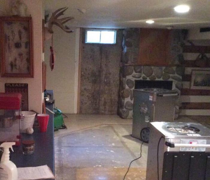 Water Damage in Fitchburg home After