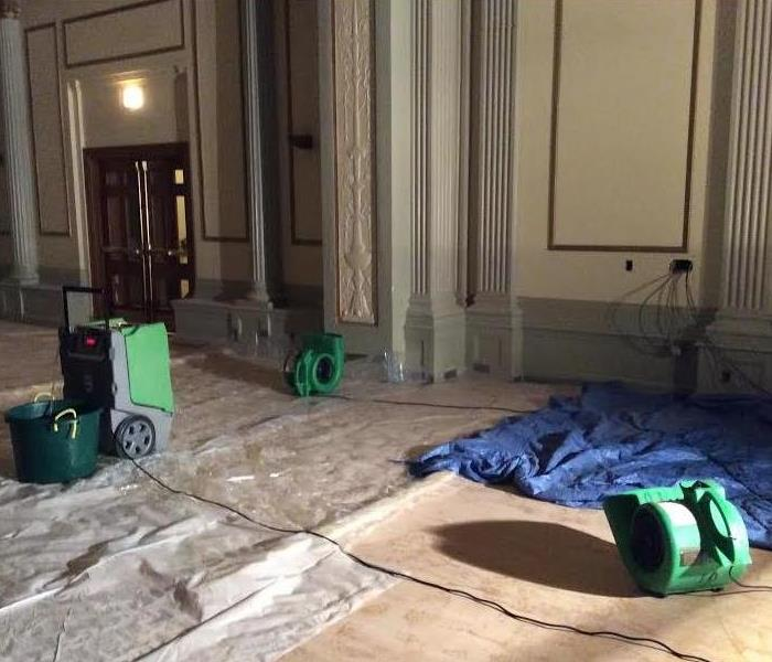 There is No Commercial Water Loss That is Too Big for SERVPRO of Madison