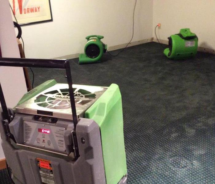 Water Damage Flooded basement in Madison